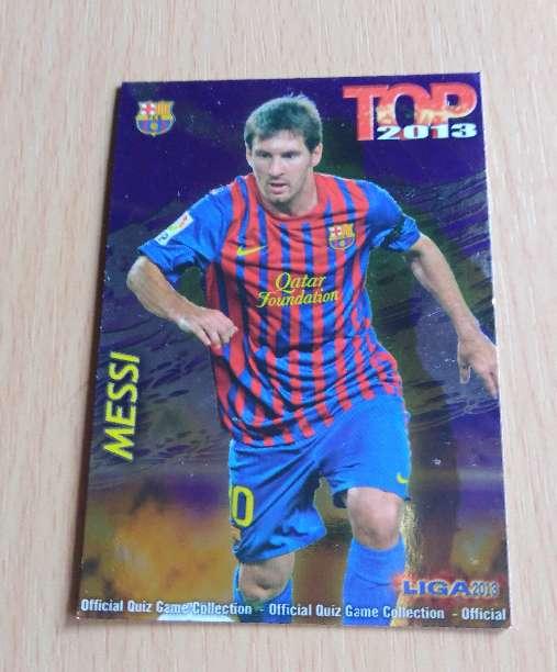 Imagen Messi cromo fútbol