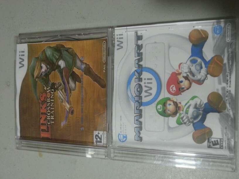 Imagen  esos son discos de la intento Wii