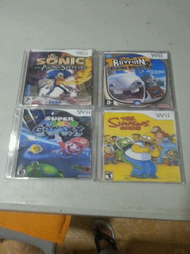 Imagen discos del intento Wii