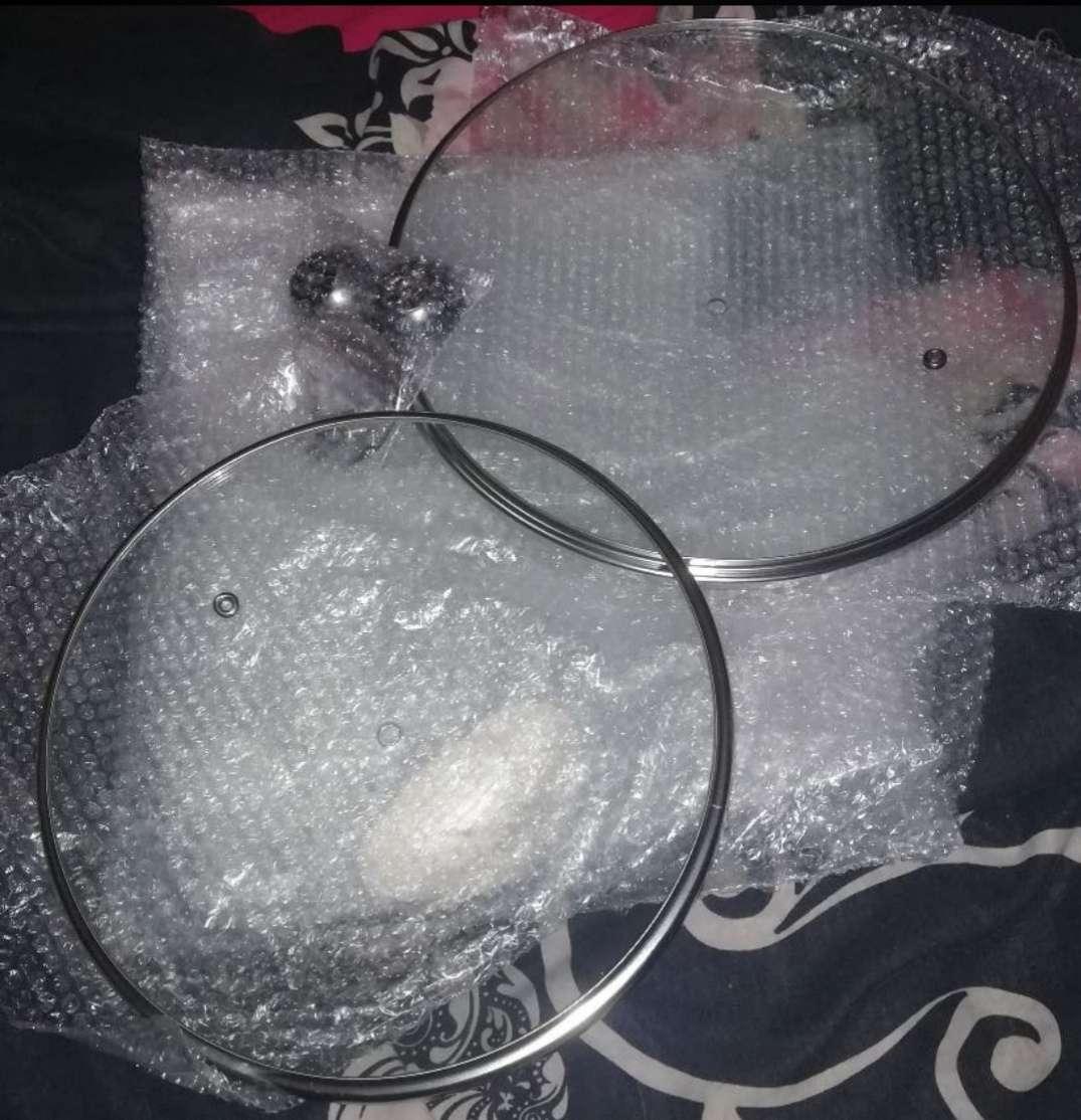 Imagen Tapas de cristal (24 y 28cm)