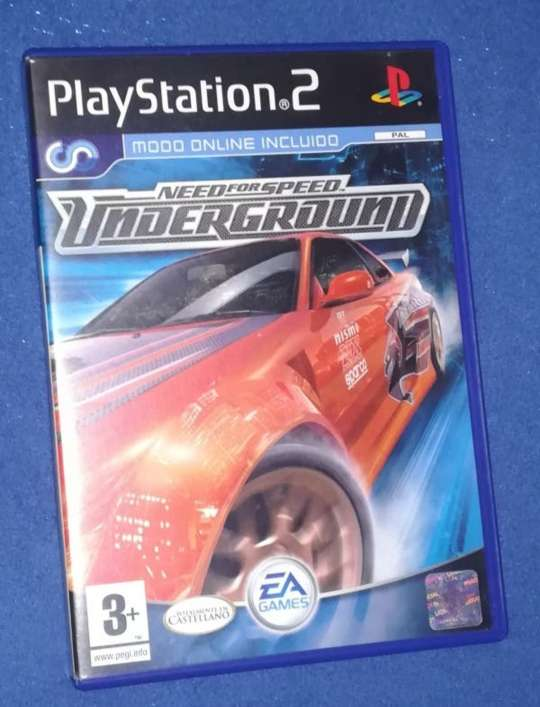 Imagen Caja Need For Speed Underground para PlayStation 2