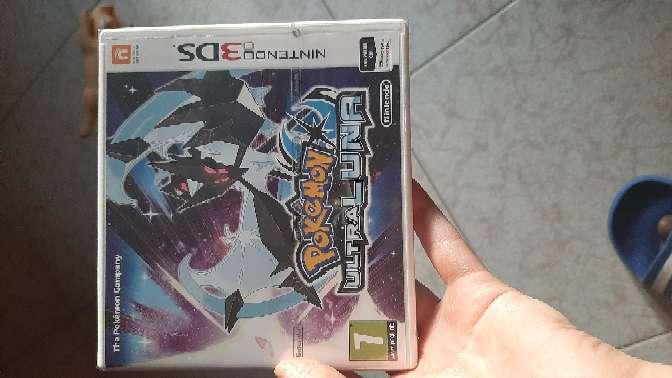 Imagen Juego 3ds Pokemon ultraluna
