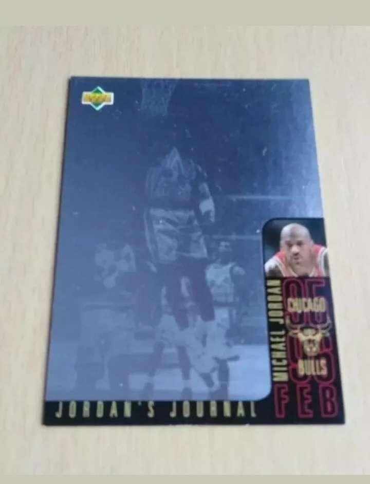 Imagen Michael Jordan Card /cromo NBA.