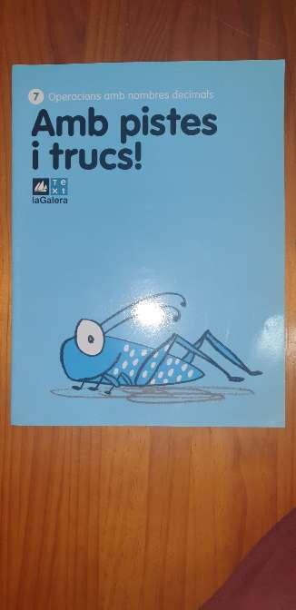 Imagen  Cuaderno matemáticas