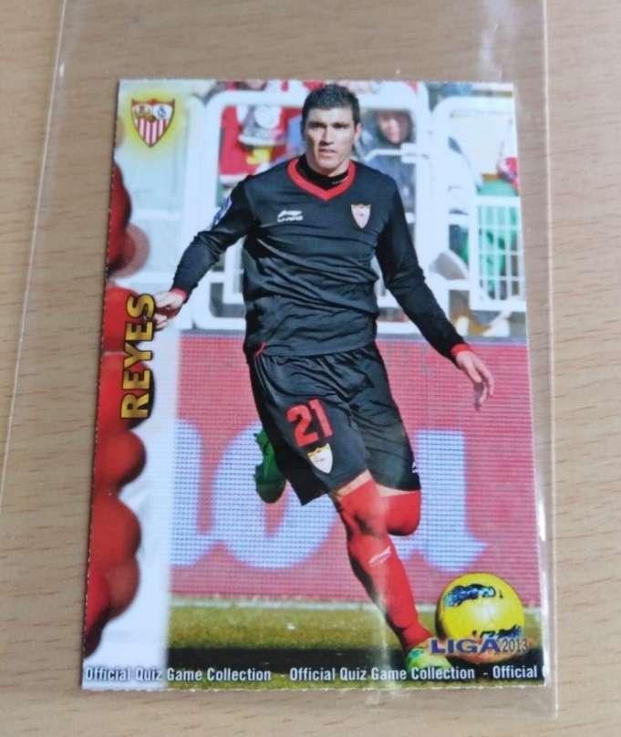 Imagen Reyes card fútbol
