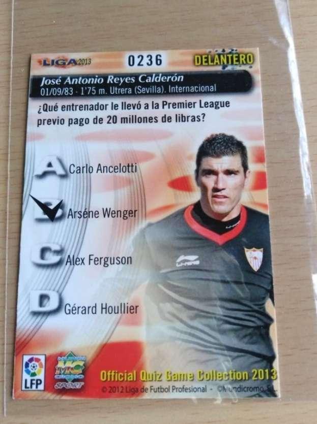 Imagen producto Reyes card fútbol  2