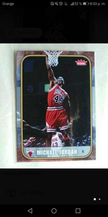 Imagen Michael Jordan Card NBA