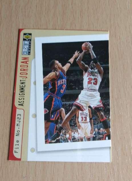 Imagen Michael Jordan Cromo NBA.