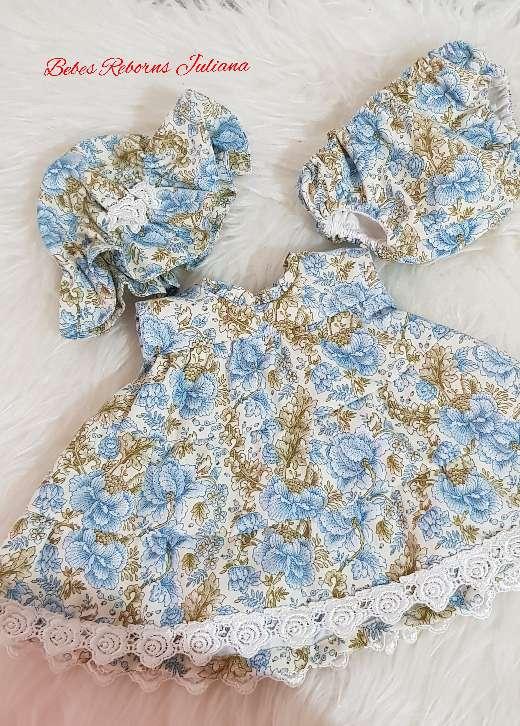 Imagen producto Vestido bebé reborn 2