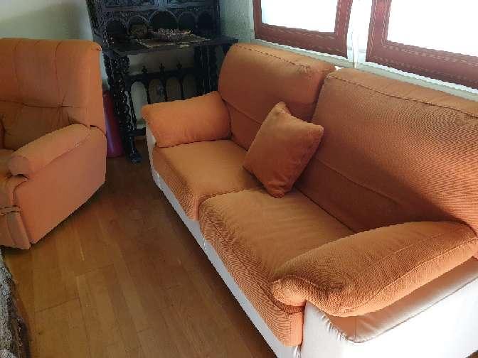 Imagen producto Tresillo y sillón relax 2