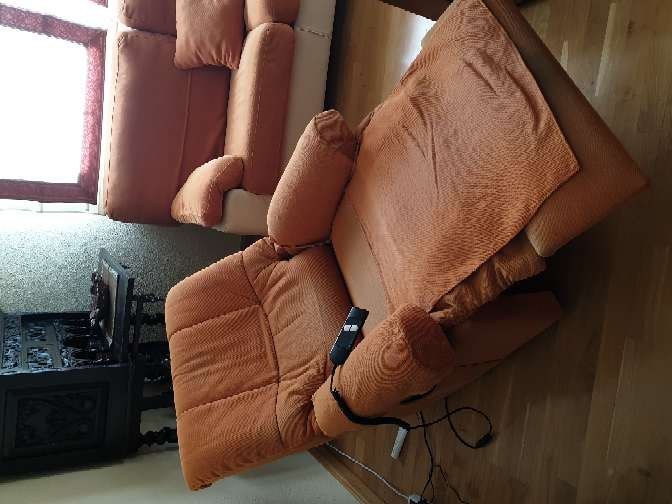 Imagen producto Tresillo y sillón relax 4