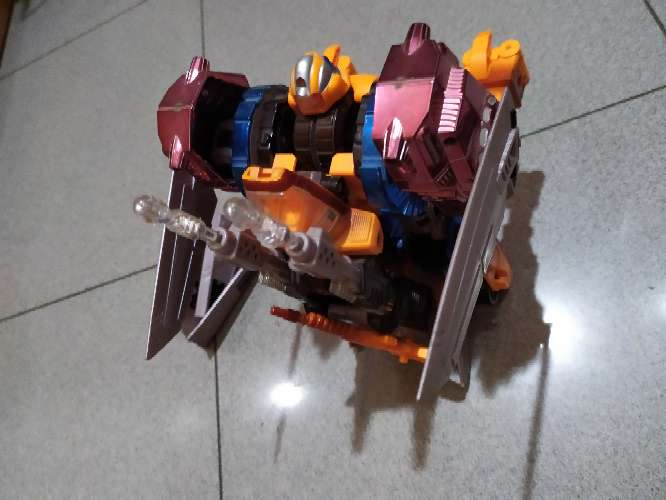 Imagen producto Transformer Optimus Prime animal gorilla 1998 6