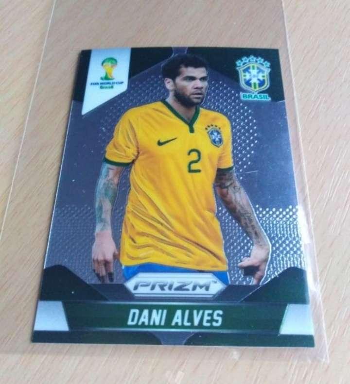 Imagen Dani Alves es card fútbol.