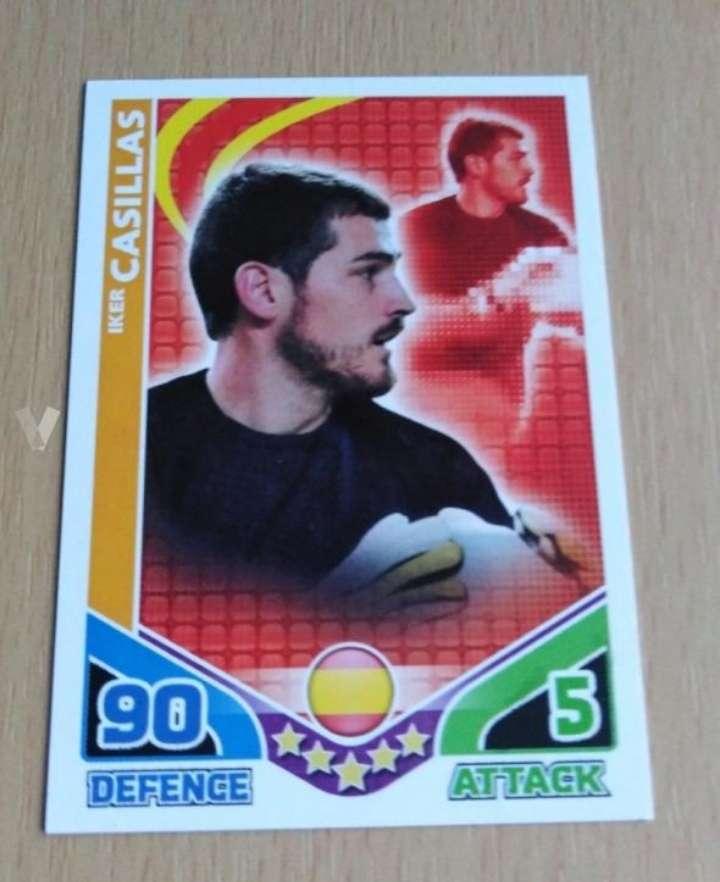Imagen Iker Casillas card fútbol