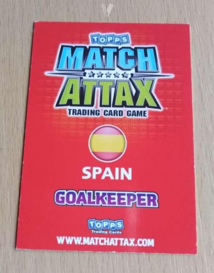 Imagen producto Iker Casillas card fútbol  2