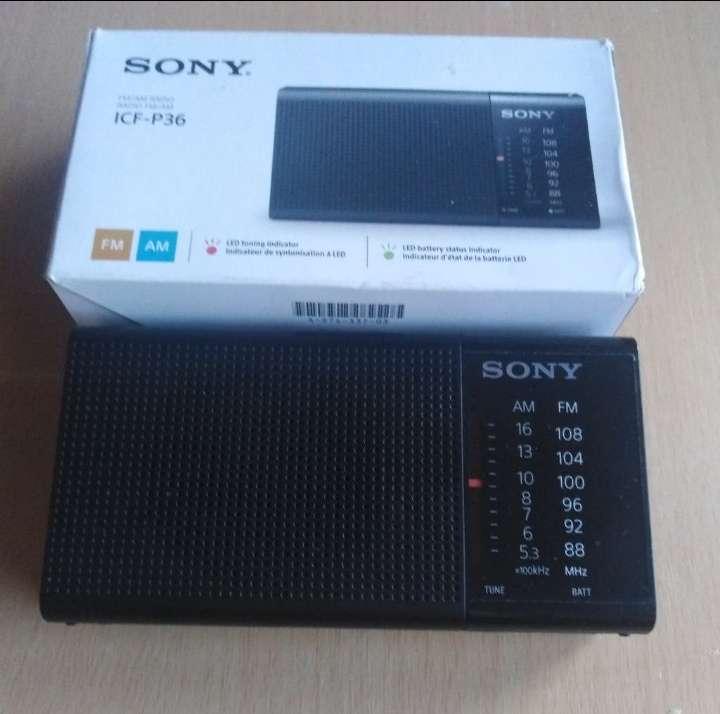 Imagen producto Radio Sony.  2
