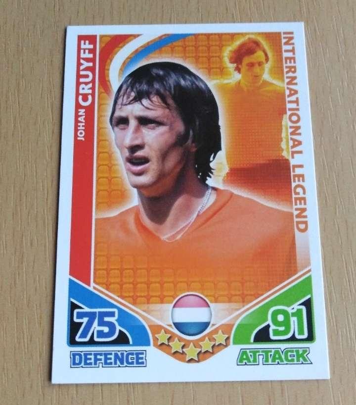 Imagen Johan Cruyff card fútbol.
