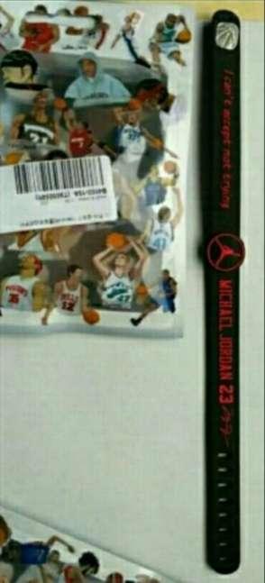 Imagen Michael Jordan pulsera ajustable.