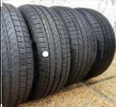 Imagen cubierta 185/65/14 Pirelli x4 unidades seminuevas oportunidad