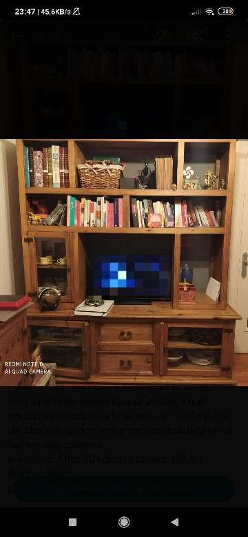 Imagen Mueble para televisor y libreria
