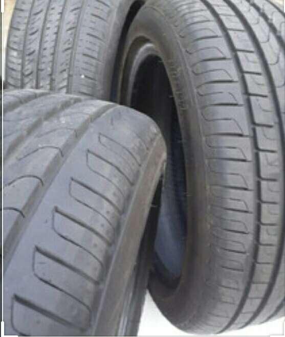 Imagen producto Cubierta 185/60/15 Pirelli seminuevas x2 entrega CABA  3