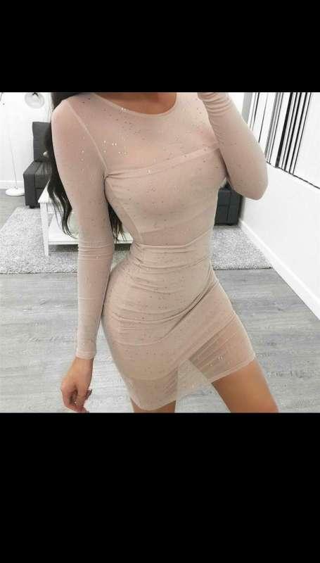 Imagen vestido beige