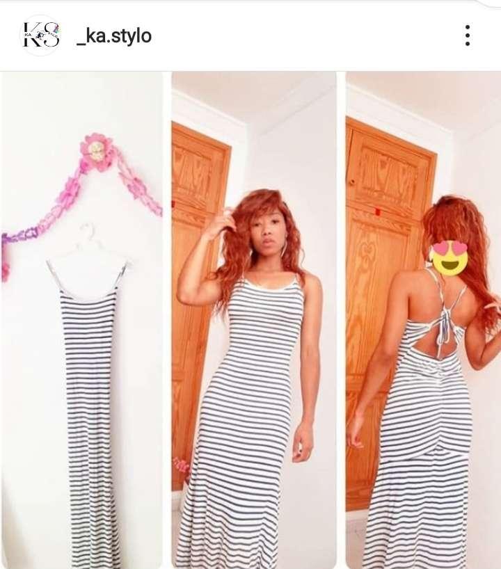 Imagen Vestido de Rayas
