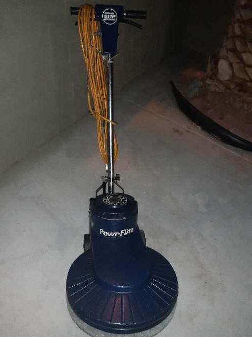Imagen producto Powr-flite Floor Buffer Hyper Gloss Performer Classic Burnisher 1600 Rpm 2