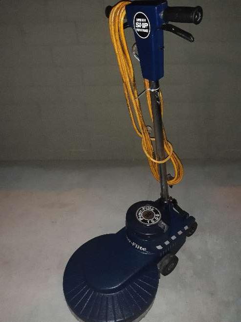 Imagen producto Powr-flite Floor Buffer Hyper Gloss Performer Classic Burnisher 1600 Rpm 3