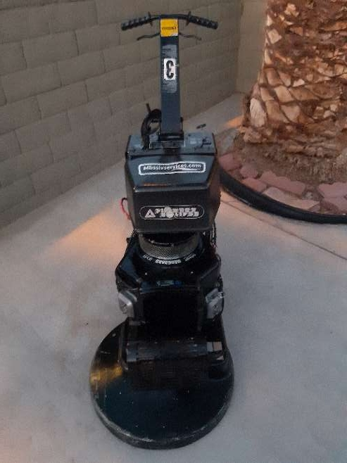 Imagen producto Pioneer Eclipse 21 Propane Super High Speed Floor Buffer Polisher 14hp motor 8