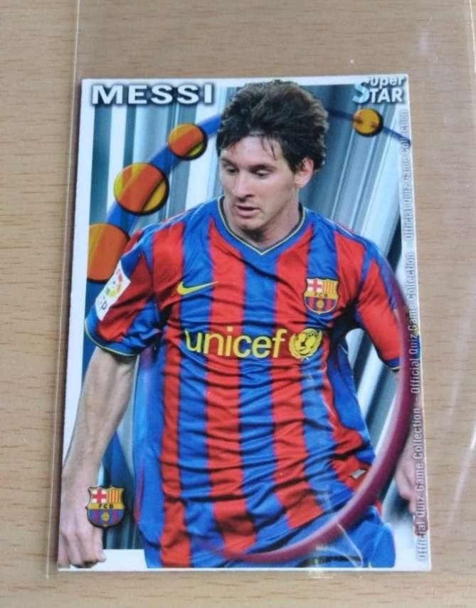 Imagen Messi cromo