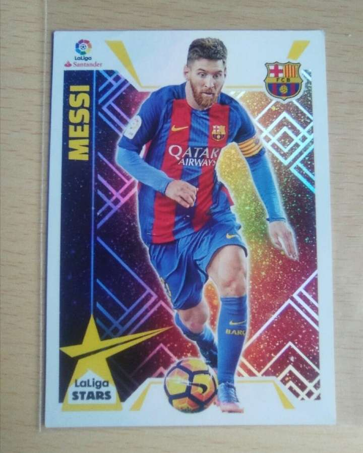 Imagen Messi cromo excelente
