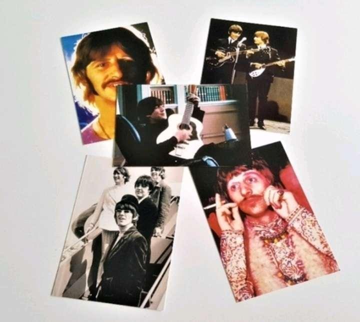 Imagen The Beatles postales.