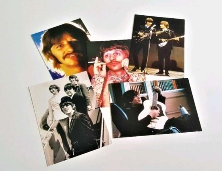 Imagen producto The Beatles postales.  2