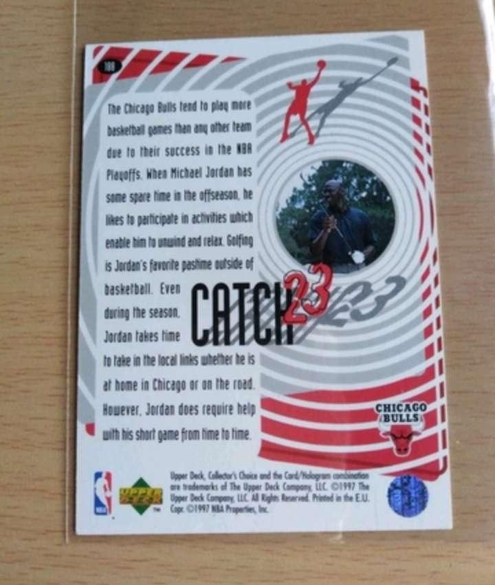 Imagen producto Jordan Cromo /Card. NBA.  2