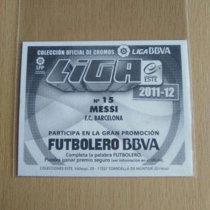 Imagen producto Messi cromo 11 - 12 Fútbol.  2