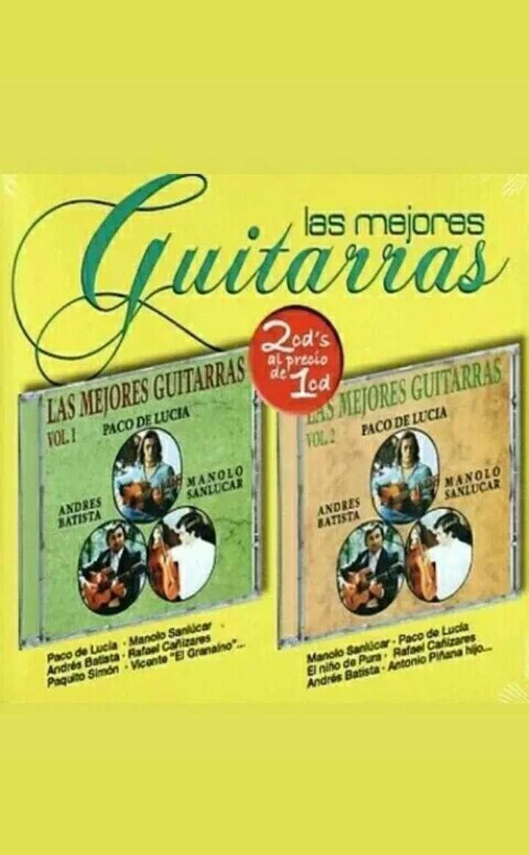 Imagen Doble CD Paco de Lucía.
