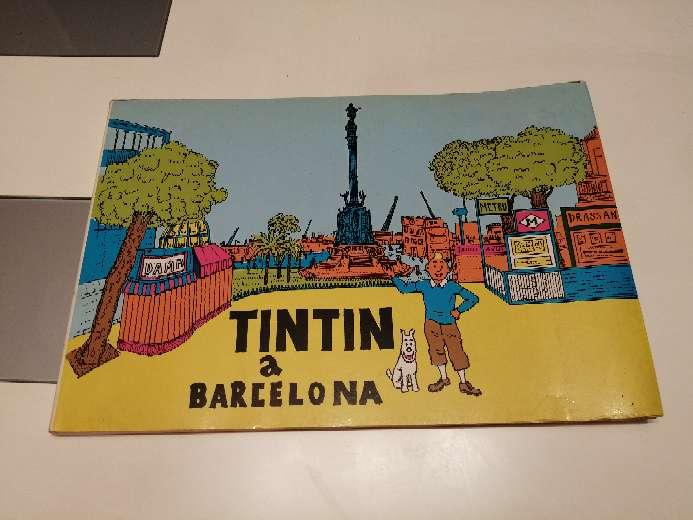 Imagen Tintin en Barcelona