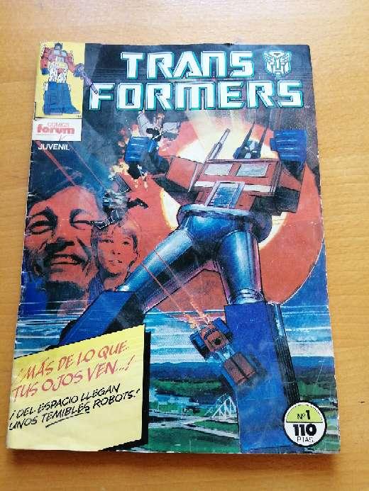 Imagen Comic número 1Transformers