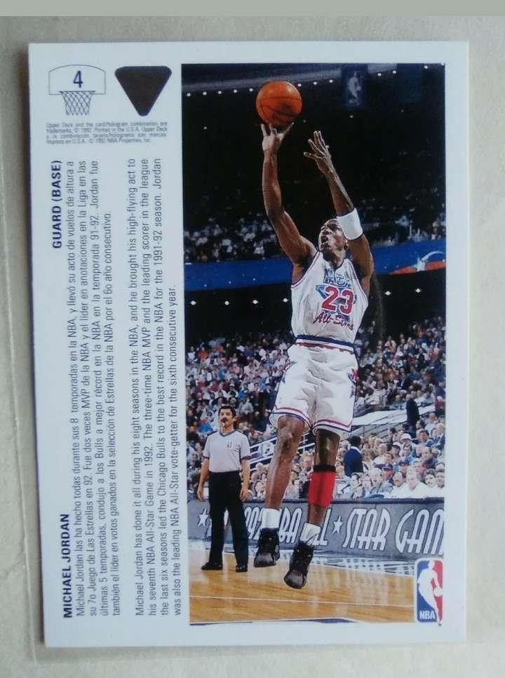 Imagen producto Michael Jordan card NBA.  2