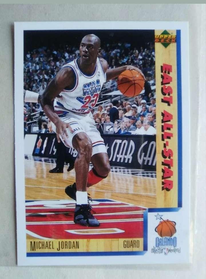 Imagen Michael Jordan card NBA.
