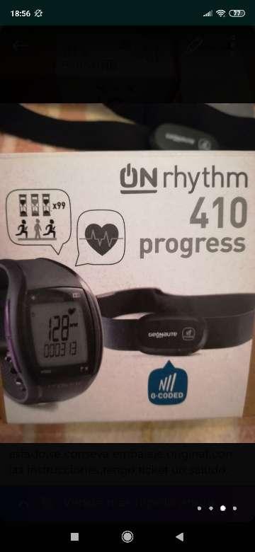 Imagen producto Reloj pulso metro con cinta cardiaca  3