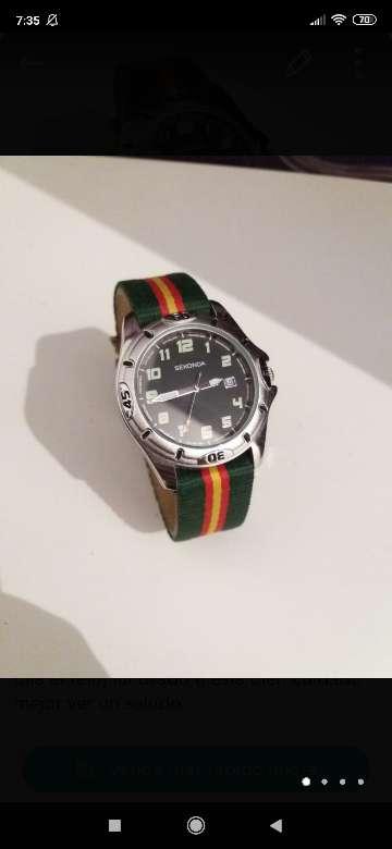 Imagen reloj clásico Seconda