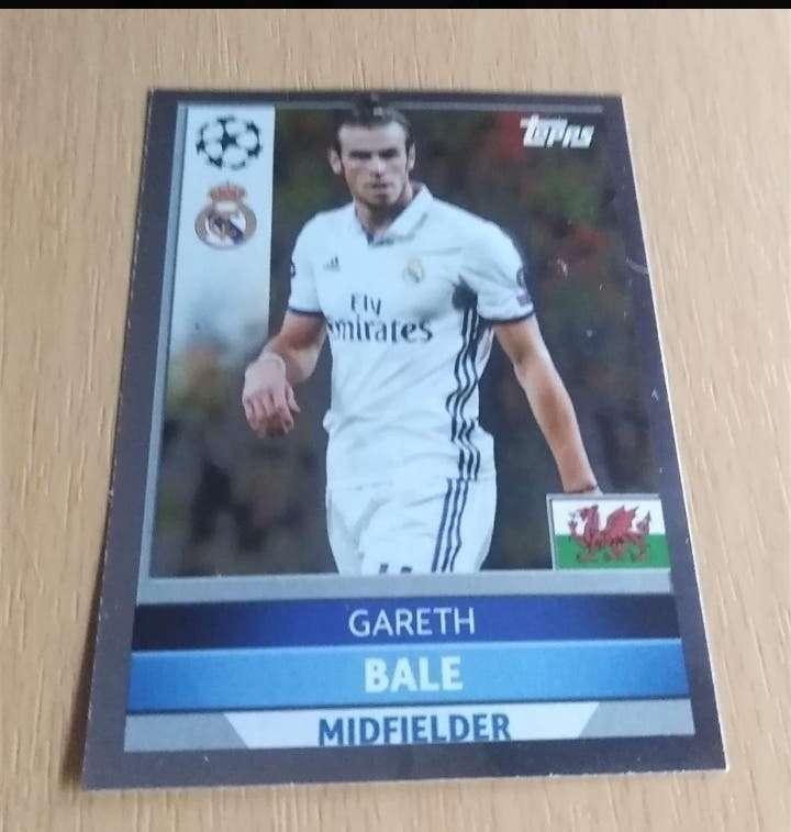 Imagen Gareth Bale card Fútbol.