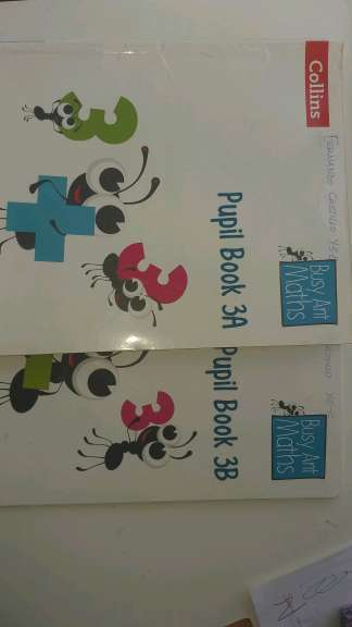Imagen producto Maths COLLINS pupil book 3a&b 1