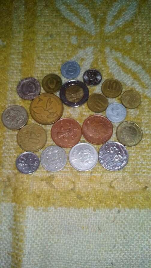 Imagen monedas de varios paises