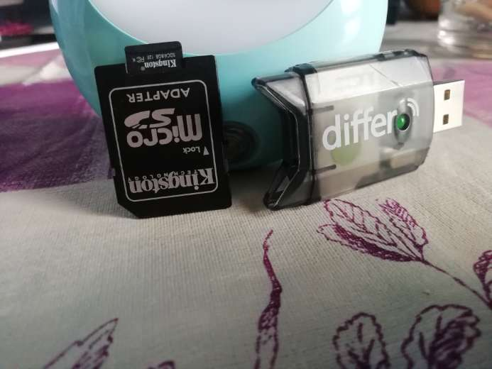 Imagen Adaptador para micro SD con pendrive lectorSD