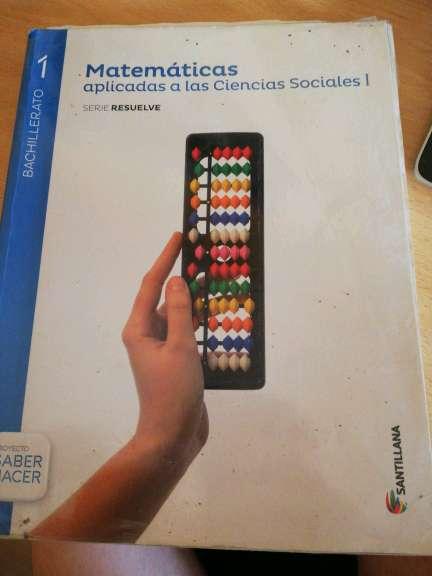 Imagen Libro matemáticas 1° Bachillerato