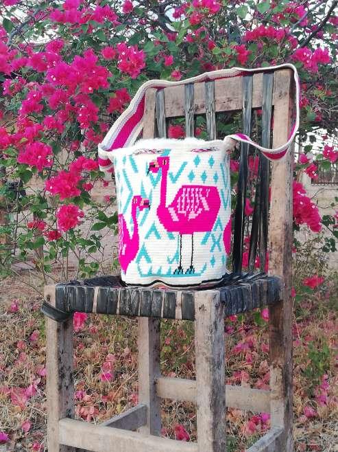 Imagen Mochila Wayuu