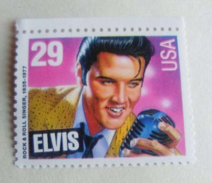 Imagen Elvis sello.
